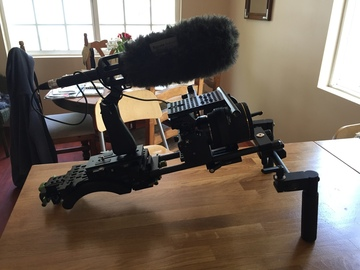 Rent: A7sii Full Rig, Rokinon Lens Set & Atamos Ninja Assassin 4k