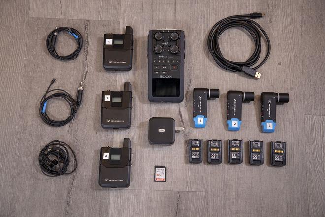 3x Sennheiser AVX Kit — Zoom H6, Extra Batteries, MKE2, etc!