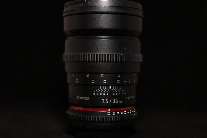 Rokinon Cine 35mm T1.5 Aspherical Wide Angle Cine Lens