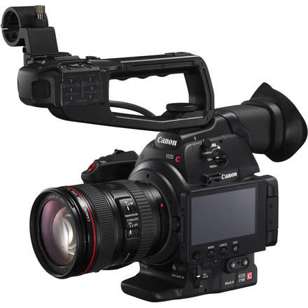 Canon EOS C100 w/ 2 Lenses