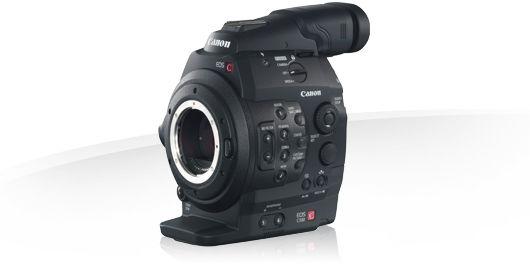 Canon C300, 17-50mm Lens, Follow Focus, Shoulder rig