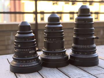 Rent: Zeiss Variprime Set 16-30mm, 29-60mm, 55-105mm T2.2