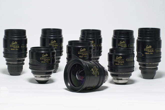 Cooke Mini S4/i T2.8 Set of 9