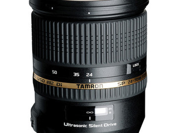 Rent: Tamron SP 24-70mm f/2.8 DI VC USD Lens for Canon Cameras