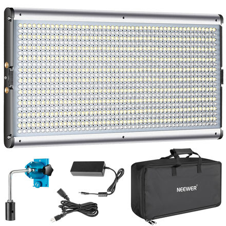 2x LED Panels - Dimmable Daylight