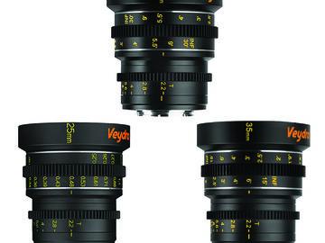 Rent: Veydra Cinema Lens Set