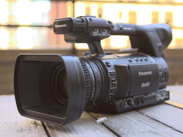 Rent: Panasonic AG-HPX250 P2 HD Handheld Camcorder