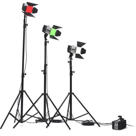 Digital Sputnik DS3 w/ 3 Matthews Light Stands