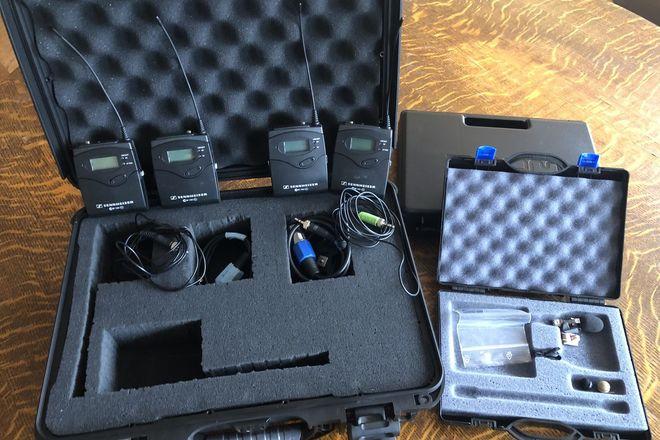 2 x Sennheiser ew 100 ENG G3 Wireless Lav Kit