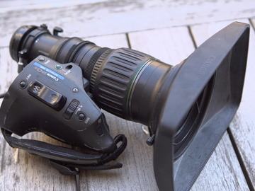 "Rent: Canon J11ex4.5BIRSE 11x 2/3"" ENG"