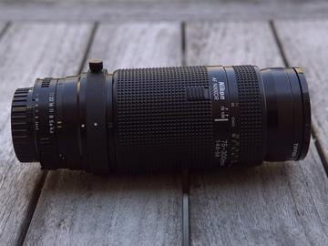 Rent: Vintage Nikon AF Zoom-NIKKOR 70-300mm f/4-5.6G Lens