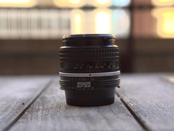 Rent: Nikon 55mm Vintage Lens F2.8