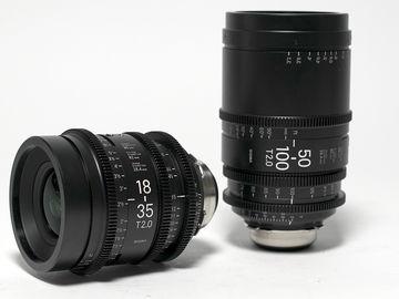 Rent: Sigma 18-35 + 50-100mm PL T2.0 (2 lenses)