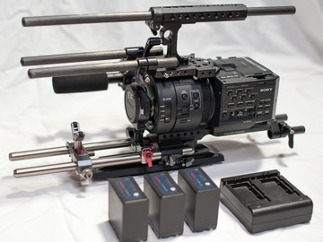 Rent: Sony FS700R Basic Package - Element Technica Rig
