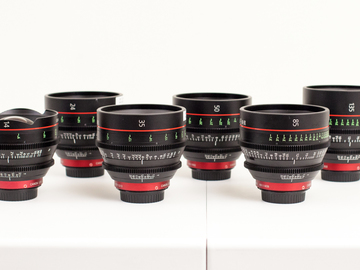 Rent: 5 Canon CN-E Prime Lenses (Your Choice)