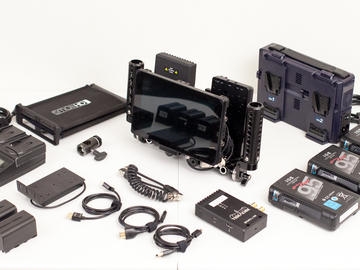 Rent: Wireless Kit - SmallHD DP7 OLED, Teradek Bolt 300 HDMI/SDI