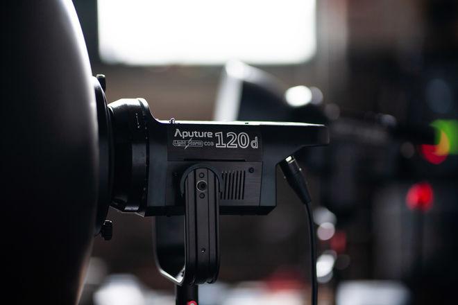 Aputure C120d Daylight LED Light Kit V-Mount 120