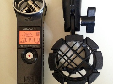 Rent: Zoom Stereo Digital Recorder w/ boom pole and headphones