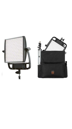 1 Astra 6X Litepanel, Bi Color, 1 Soft box, 1 Stand, 1 Bag