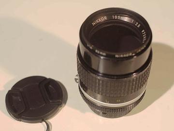 Rent: Nikon Nikkor 105 mm f/2.5 Ai-S