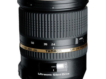 Rent: Tamron SP 24-70mm f/2.8 DI VC USD Lens
