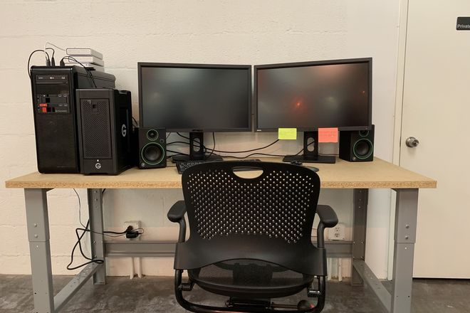 Adobe Premiere Editing Bay - Client Friendly!