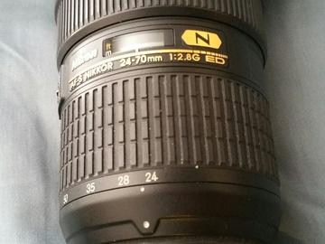 Nikon 24-70 mm F 2.8