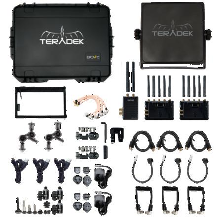 Teradek Bolt 3000 XT 1:2 plus Sidekick and Patch Antenna