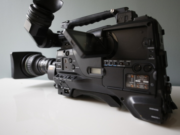 Rent: Sony PMW-F800 XDCAM ENG CAMERA
