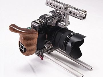 Rent: Sony A7SII Shooters Kit (Cage, Lens, Tripod) - #1