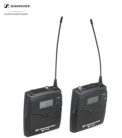 Sennheiser ew 112-p ENG G3 Wireless Kit