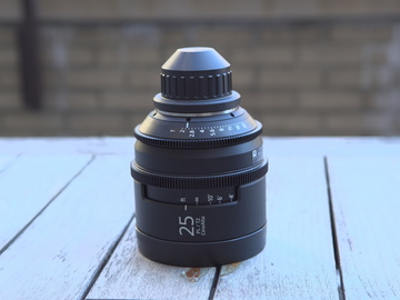 Rent: Sony CineAlta 4K Prime Lens 25mm T2