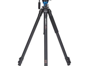 Rent: Tripod Benro S4 Head (Analog Manfrotto) - 8.8 lb Load Capaci