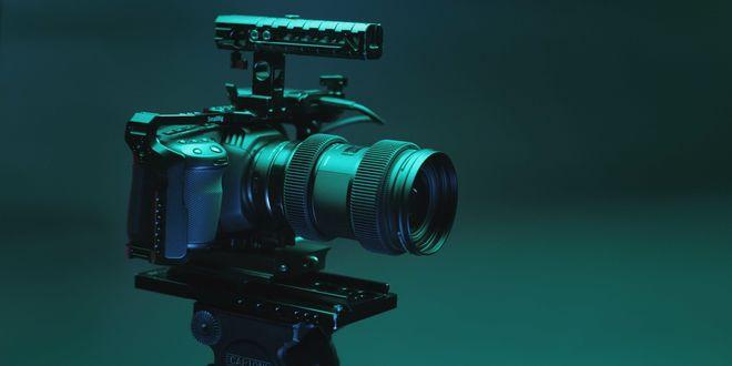 Blackmagic Pocket Cinema Camera 4K Kit W Lenses & Tripod