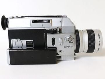 Rent: canon super 8 auto zoom 518