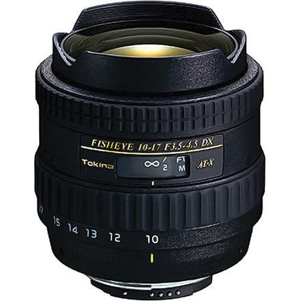 Tokina 10-17mm Fish Eye Zoom Lens Autofocus