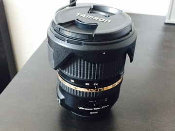 Rent: Tamron 24 - 70 f/2.8 with Tiffen 82mm ND filter