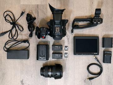 Rent: Canon EOS C100 Mark II — FULL KIT w/ 24-105mm f/4L IS II