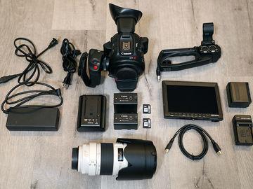 Rent: Canon EOS C100 Mark II — FULL KIT w/ 70-200mm f/2.8L IS II