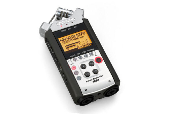 Zoom H4n Portable Recorder, With AC power adaptor