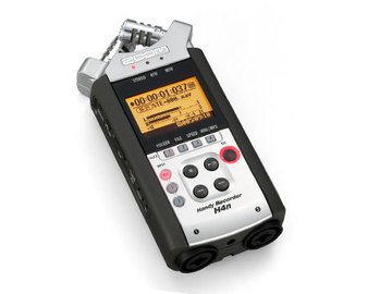 Rent: Zoom H4n Portable Recorder, With AC power adaptor