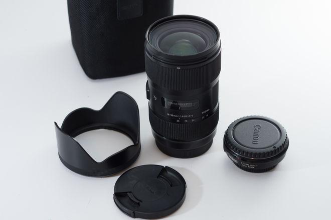Sigma 18-35mm f/1.8 Canon with MFT Speedbooster 0.71x