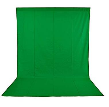 6x9foot PRO 100% Pure Cotton Photo Video Studio Green Screen