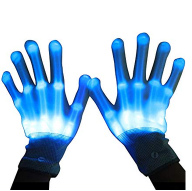 LED Gloves (skeleton style)