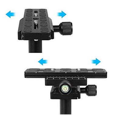 Panasonic with Quick Release Plate Sony SUTEFOTO S40 Handheld Stabilizer Steadicam Pro Version for Camera Video DV DSLR Nikon Canon Black