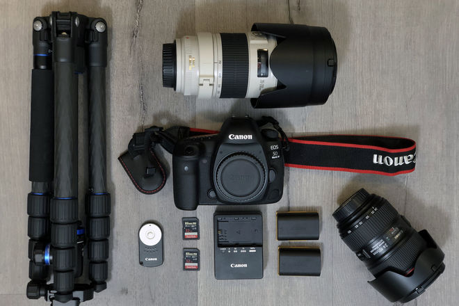 Canon EOS 5D Mark IV —  CANON LOG w/ TWO L-SERIES LENSES!