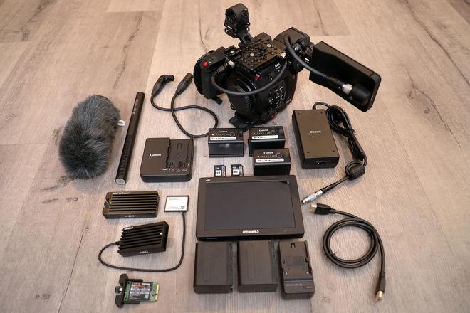 Canon EOS C200 — Body Kit w/ 2+ Hours Raw Recording!