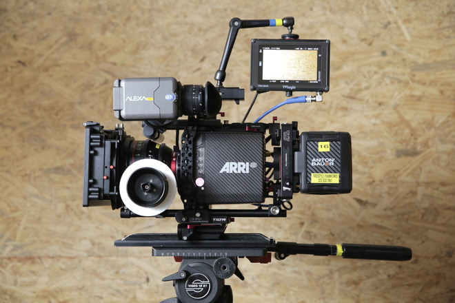 Alexa Mini 4K with 4:3 | Indie Package | Canon CN-E Primes