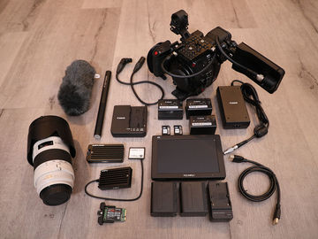 Rent: Canon EOS C200 —  2+ Hours RAW w/ 70-200mm f/2.8L IS II