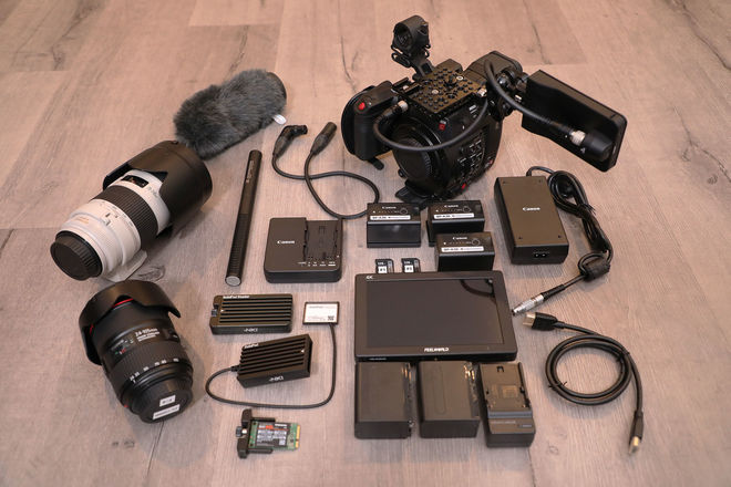 Canon EOS C200 —  2+ Hours RAW w/ TWO L-SERIES LENSES!